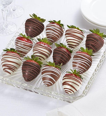 Decadent  Chocolate Covered Strawberries