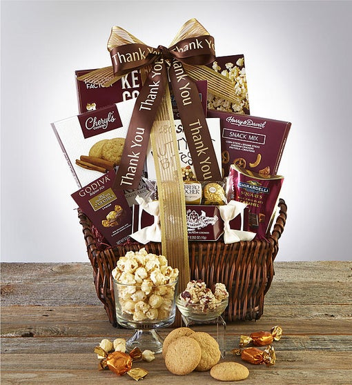 Thank You! Deluxe Balsam Gift Basket
