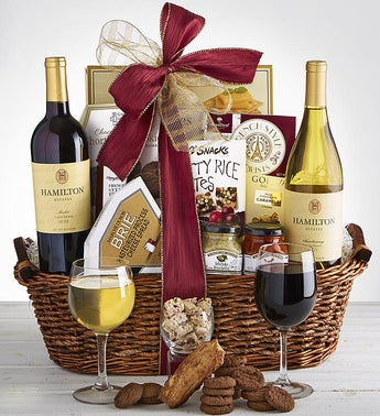 Sending Warm Thoughts Sympathy Wine Gift Basket