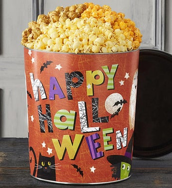 Popcorn Factory Happy Halloween 35G 3-Flavor Tin