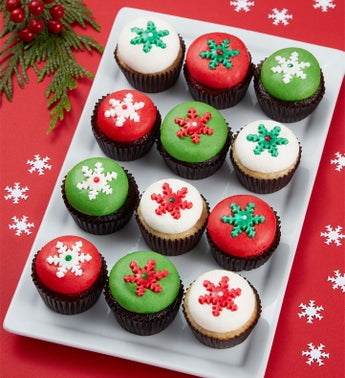 Best Christmas Ever Mini Artisan Cupcakes