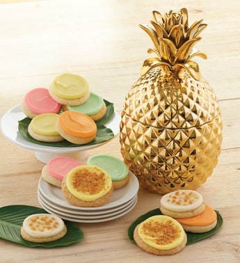 Cheryls Pineapple Cookie Jar