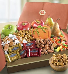 Autumn Harvest Fruit  Sweets Box