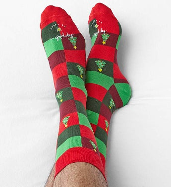 Good Day Holiday Socks