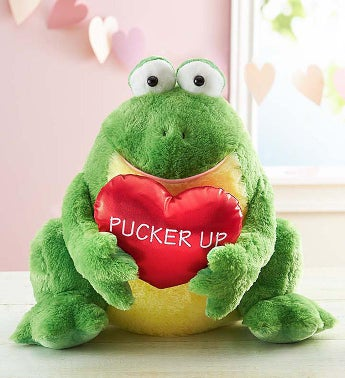 Toad-ally Yours Pucker Up Frog