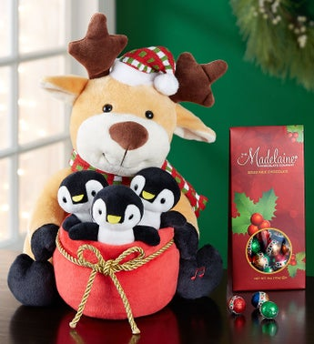 Animated Seasons Greetings Reindeer