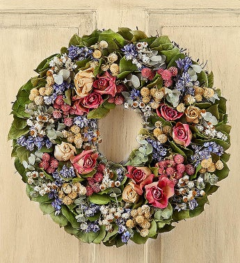Preserved Rose Wreath  16