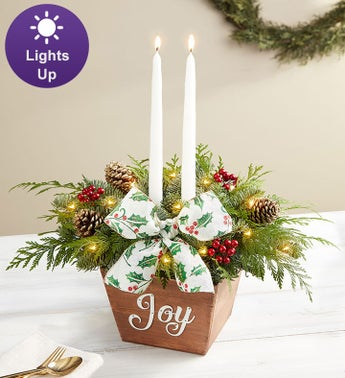 Joyful Holiday Centerpiece