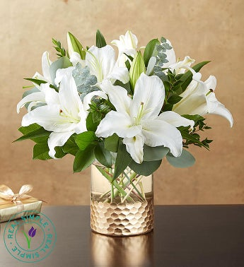 Classic Lily Bouquet by Real Simple