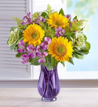 Sunflower Garden Bouquet