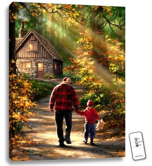 Personalized The Path Illuminated Fine Art