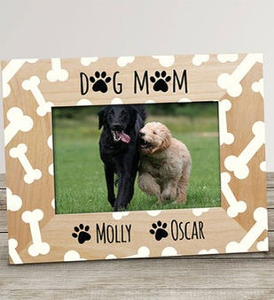 Personalized Dog Mom Frame