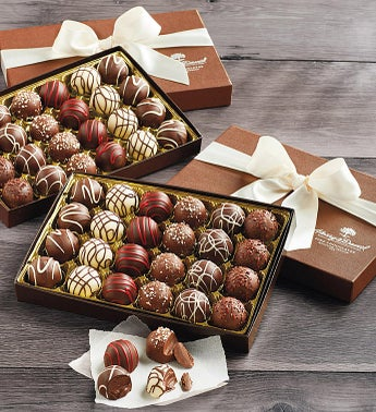 Harry and David Signature Chocolate Truffles 2 LB