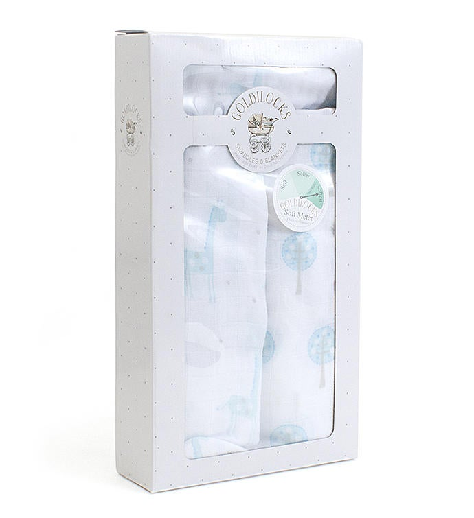 Goldilocks Swaddle Set - Blue