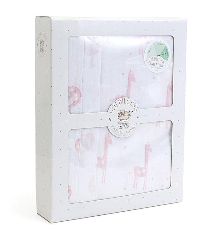 Goldilocks Blanket - Pink