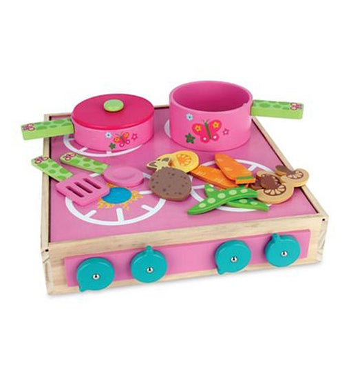 Wooden Toy Cook Set