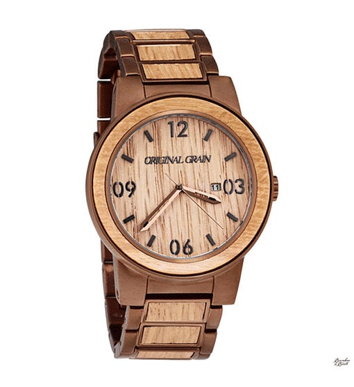 Reclaimed Whiskey Barrel Watch