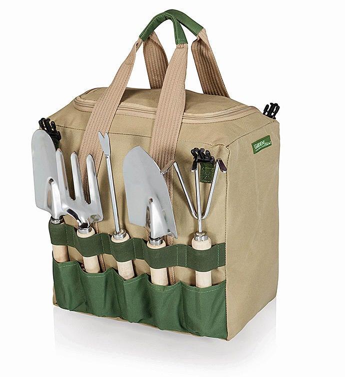 Gardener Folding Seat with Tools