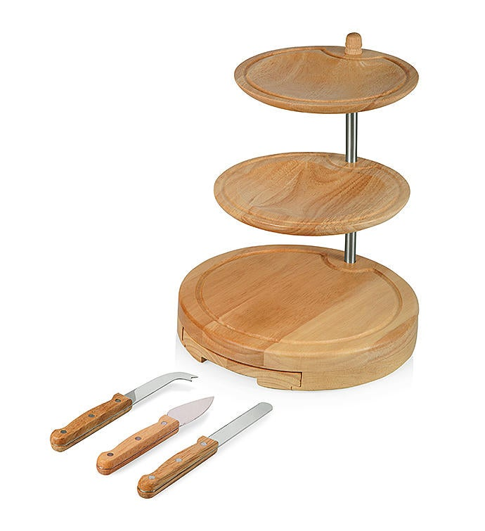 Regalio 3-Tier Serving Set