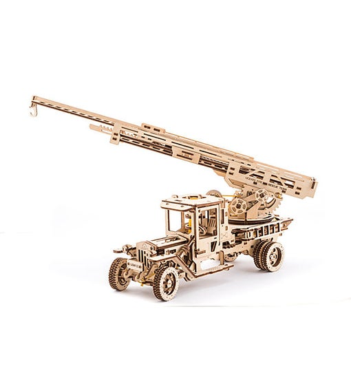 Ugears Fire Truck With Ladder