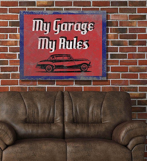 My Garage, My Rules