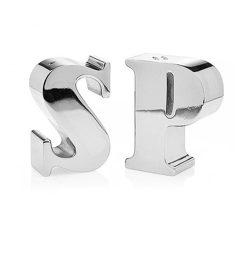 Letter Salt and Pepper