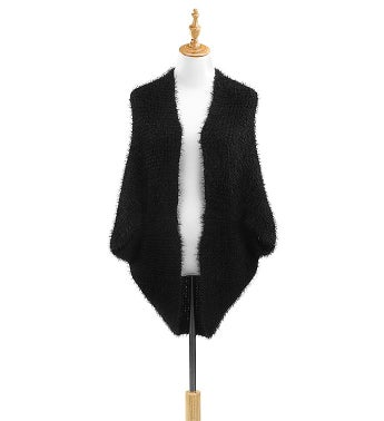 Eyelash Knit Shrug