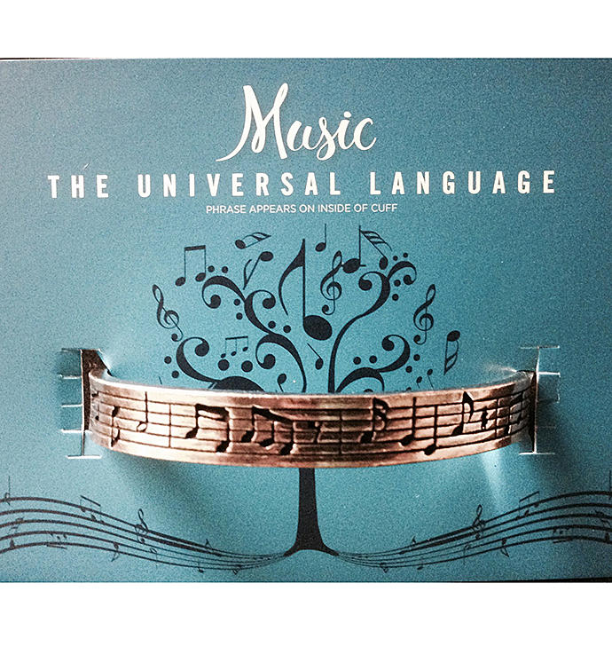 Quotable Cuff - Music Notes
