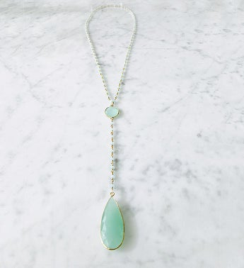 Diana Denmark Necklace Chalcedony