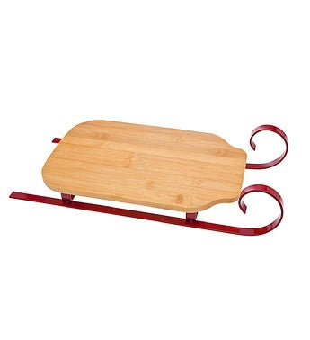 Sleigh Cutting Board