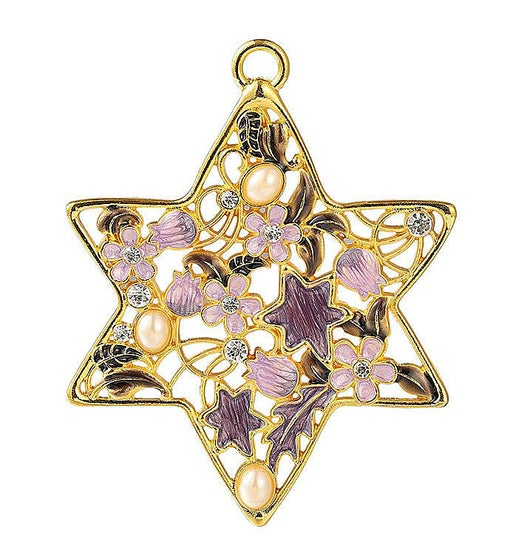 Lavender Traditional Star of David