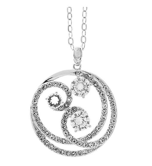Entangled Swirl Design Necklace