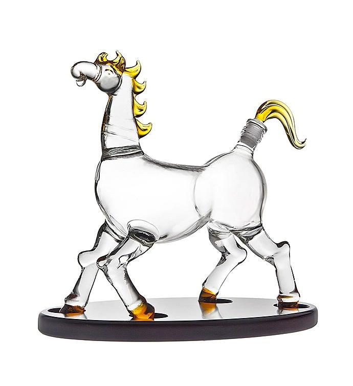 Horse Decanter