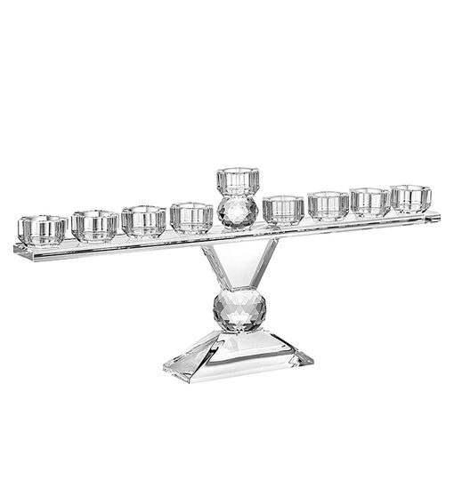 Safed Menorah Clear