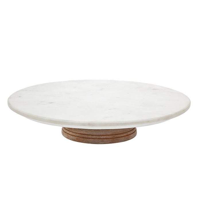 WoodMarble Lazy Susan