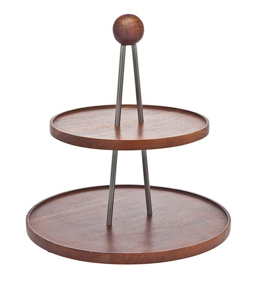 Element Acacia Wood 2 Tier Server