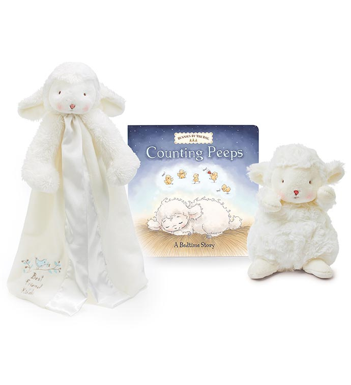 Sweet Little Lamb Baby Gift Set