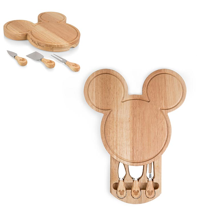 Mickey Shaped Cheese Board