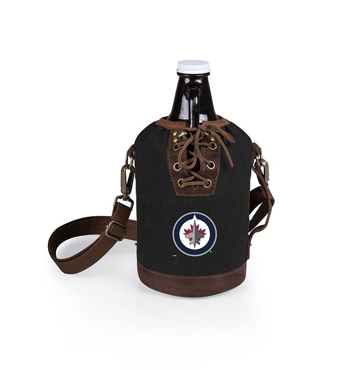 Growler Tote with Glass Growler