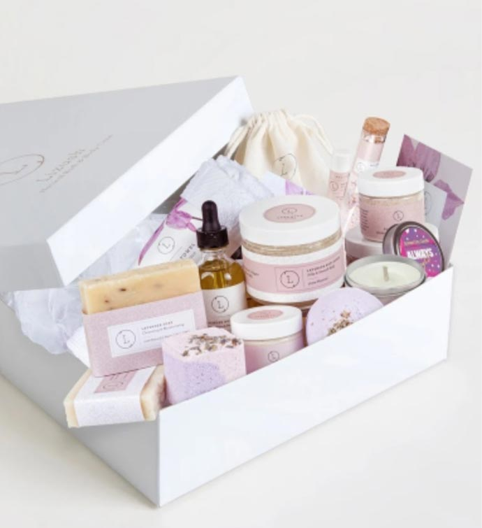 Special Lavender Spa Gift Box