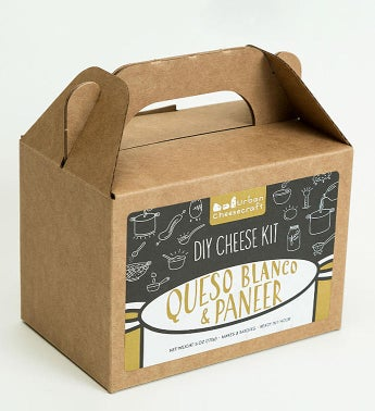 Paneer & Queso Blanco Cheese Kit