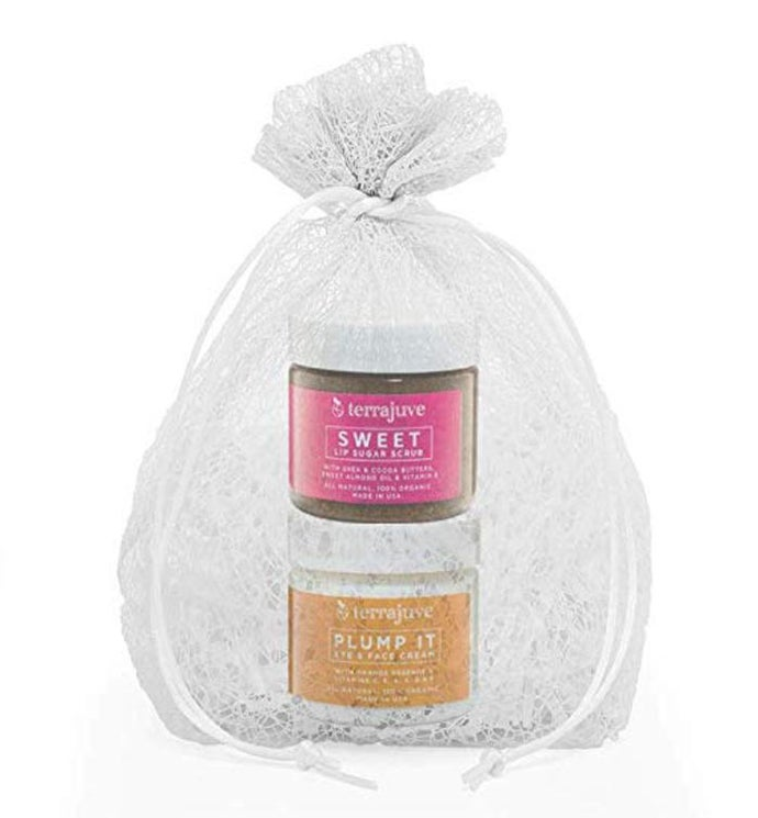 Beauty Facial Bundle Eye  Face Cream and  Lip Scrub