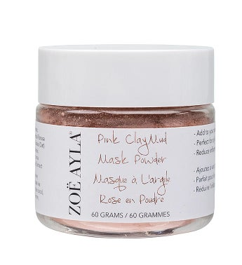 Pink Clay Mud Mask Powder