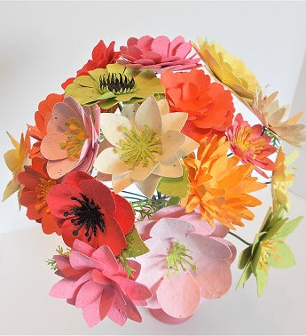 Large Seed Paper Flower Bouquet