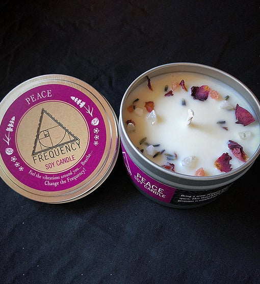 Peace Essential Oil Soy Candle