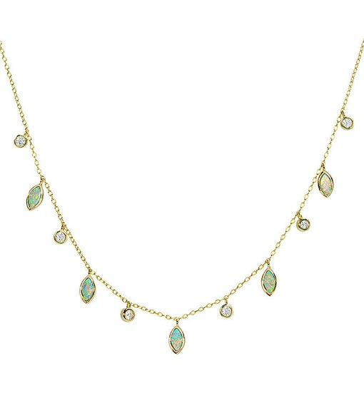 Drops of Spring - Light Green Opal