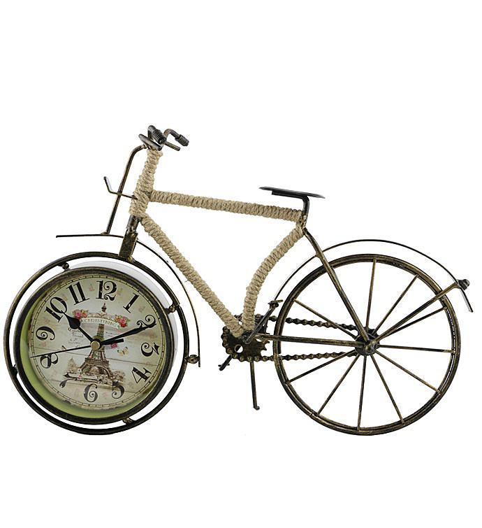 Brown Bike Clock