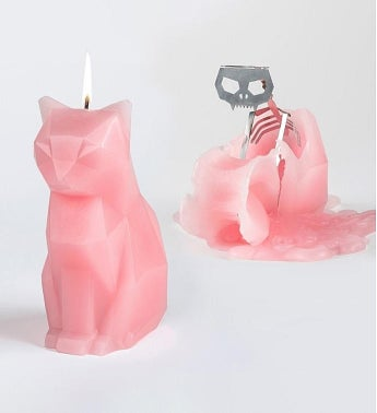 Pyropet Candle, KISA – Pink Cat