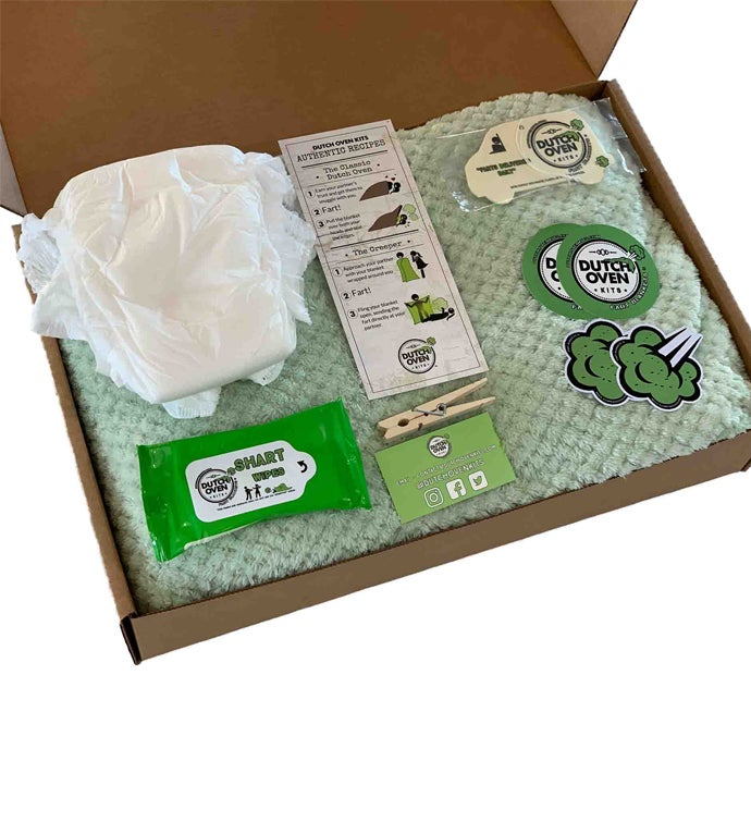 Deluxe Dutch Oven Kit Fart Blanket Gift Box
