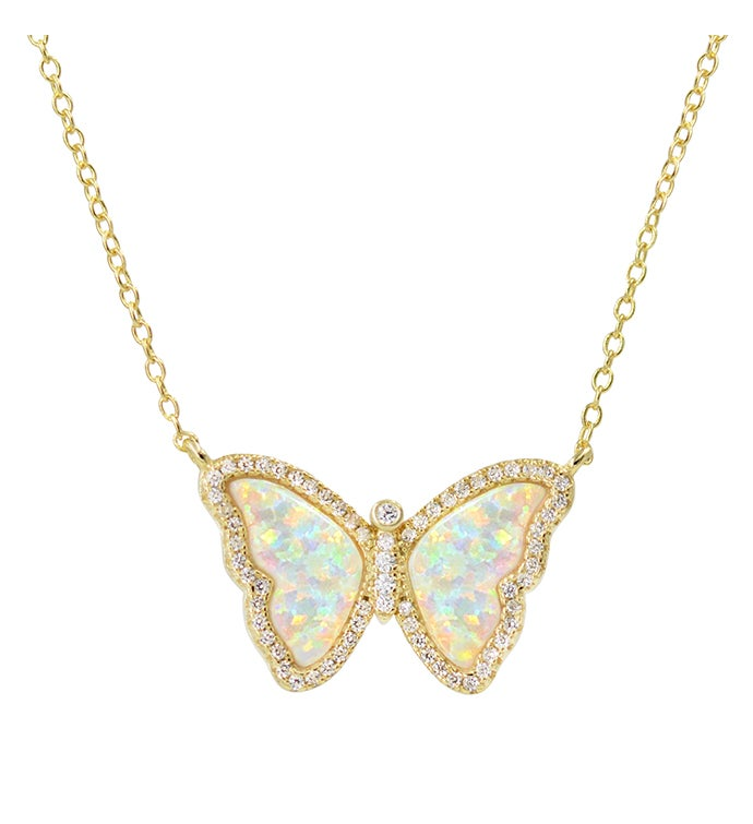 Opal Butterfly By Kamaria